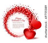 valentine's day vector... | Shutterstock .eps vector #69755389
