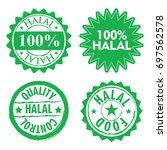 halal sign design collection
