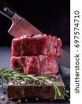 gourmet meat   Shutterstock . vector #697574710