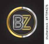 bz letter logo in a circle....