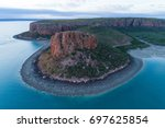 raft point  kimberley coast ... | Shutterstock . vector #697625854