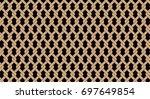 geometric shape pattern | Shutterstock . vector #697649854
