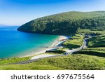 the beautiful keep bay at... | Shutterstock . vector #697675564