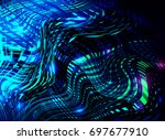 abstract business science or... | Shutterstock . vector #697677910