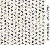 seamless primitive jumble...   Shutterstock .eps vector #697704964
