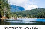 Beaver Dam In The Lake At...