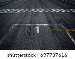 first place on the starting line | Shutterstock . vector #697737616