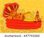 vector design of abstract... | Shutterstock .eps vector #697741060