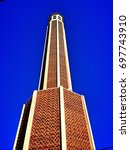 Tall Structure Against Blue Sky