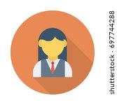 student icon   Shutterstock .eps vector #697744288