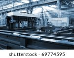 new and powerful metalworking... | Shutterstock . vector #69774595
