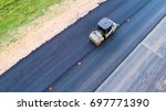 road construction from above | Shutterstock . vector #697771390