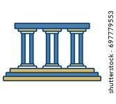 pillard icon image   Shutterstock .eps vector #697779553