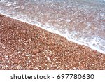 stone beach | Shutterstock . vector #697780630
