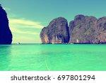 thailand  southeast asia   thai ... | Shutterstock . vector #697801294