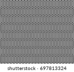 seamless pattern with black... | Shutterstock .eps vector #697813324