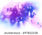 abstract watercolor wash... | Shutterstock . vector #697822228