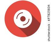 cd icon | Shutterstock .eps vector #697825834
