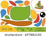 education paper game for... | Shutterstock .eps vector #697882150