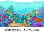 Vector Illustration Of The Sea...