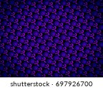 a hand drawing pattern made of... | Shutterstock . vector #697926700