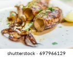 Delicious Grilled Squids In...