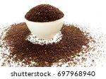 tea raw leaves | Shutterstock . vector #697968940