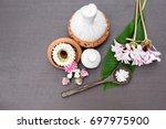 thai spa set | Shutterstock . vector #697975900