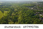 aerial drone image of suburbs ... | Shutterstock . vector #697990786