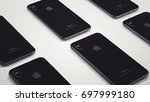 cupertino  usa   17 august 2017 ... | Shutterstock . vector #697999180