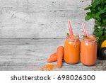A Couple Of Orange Smoothie...