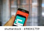 montreal  canada   july 30 ... | Shutterstock . vector #698041759