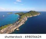 beautiful similan island number ...   Shutterstock . vector #698056624