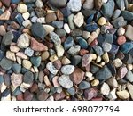 rock bed close background... | Shutterstock . vector #698072794