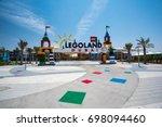 dubai  united arab emirates... | Shutterstock . vector #698094460