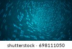 abstract background of bright... | Shutterstock .eps vector #698111050