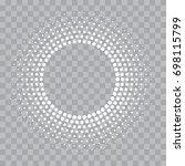 abstract halftone vector...   Shutterstock .eps vector #698115799