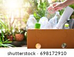 Plastic bottle garbage for...