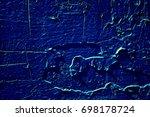 old paint peeling texture...   Shutterstock . vector #698178724