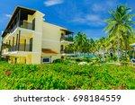 cayo coco island  cuba ... | Shutterstock . vector #698184559