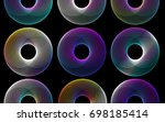Abstract Spirograph Gradient...