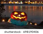The Halloween Jack O Lantern...