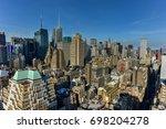 new york city   june 14  2017 ... | Shutterstock . vector #698204278