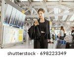 travel  business  advertise... | Shutterstock . vector #698223349