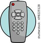 remote control | Shutterstock .eps vector #698225128