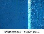 old paint peeling texture...   Shutterstock . vector #698241013