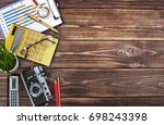 business accounting | Shutterstock . vector #698243398