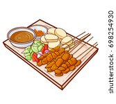 "cute and yummy ""sate madura... 