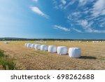 scenery of the wide sweep of...   Shutterstock . vector #698262688