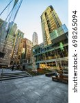 new york  usa   april 24  2015  ... | Shutterstock . vector #698265094